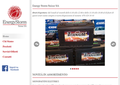 Sito – Energy Storm Suisse SA