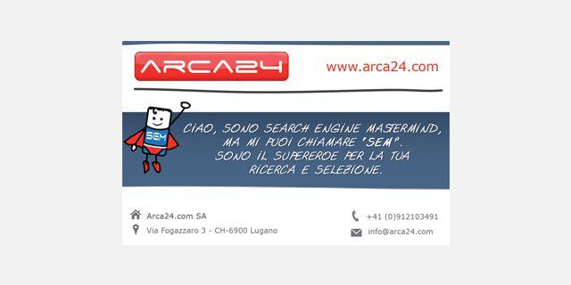 Biglietti da visita – Arca24