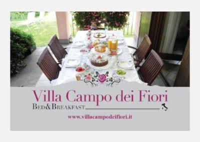 Biglietti da visita – Villa Campo dei Fiori B&B