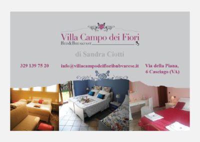 Pieghevoli – Villa Campo dei Fiori B&B