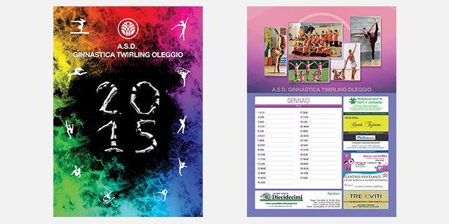 Calendario 2015 – A.S.D Ginnastica Twirling Oleggio
