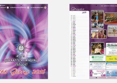 Calendario 2016 – A.S.D. Ginnastica Twirling Oleggio