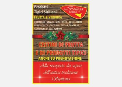 Flyer Natale 2015 – La Bottega Siciliana