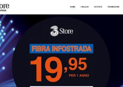 Sito – 3 Store Varese
