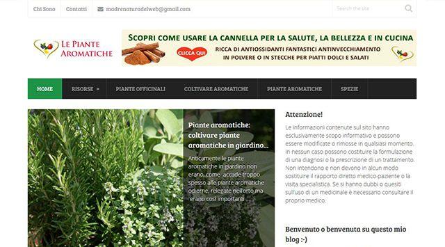 Sito – Le Piante Aromatiche