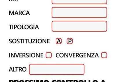 Etichette cambio gomme – Luciano Gomme