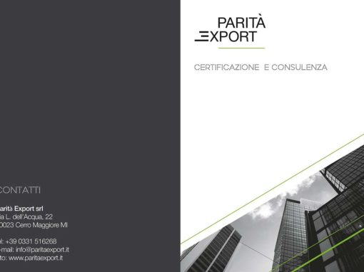 Cartelle di presentezione – Parità Export