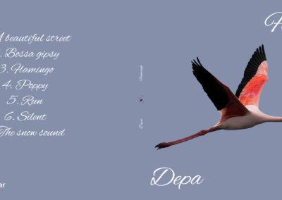 Custodia CD personalizzata – Flamingo Depa