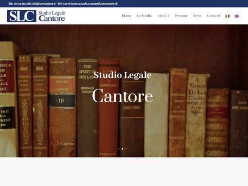 Sito – Studio Legale Cantore
