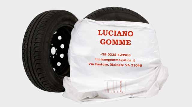 Sacchetti Portagomme – Luciano Gomme